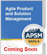 SAFe APSM Certificate